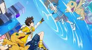 Digimon New Century Digimon Adventure Crossover b