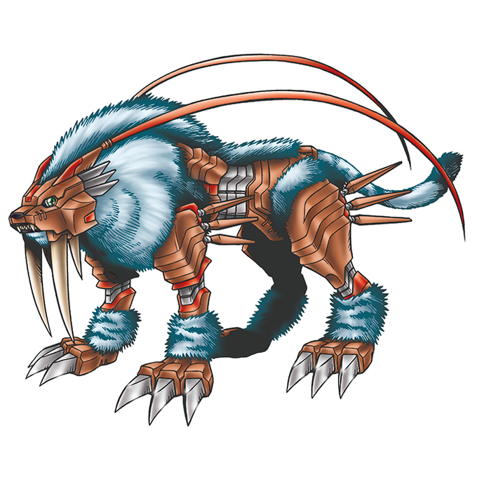 Dinotigermon