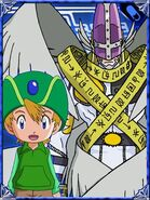 Takeru & HolyAngemon Collectors Digimon Adventure Special Card