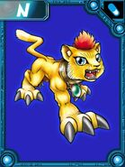 Liollmon collectors card