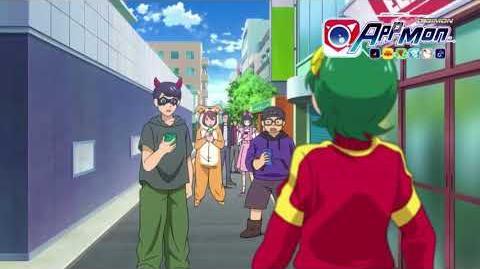 Digimon Appmon - 04 - Tu es fait, dans ton costume! Caméramon sème la panique à Halloween! PV