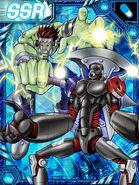 HiAndromon and Boltmon re collectors card