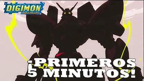 """Digimon Tri - Primeros 5 minutos del OVA """"Reencuentro"""" NUEVO-0"""