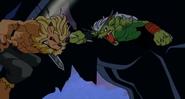 Ogremon hält Devimon den Rücken frei
