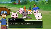 Adventure Story Digimon Elegidos etapa en entrenamiento