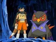 Ikuto y Falcomon 2