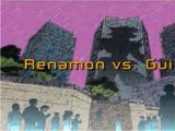Renamon vs Guilmon