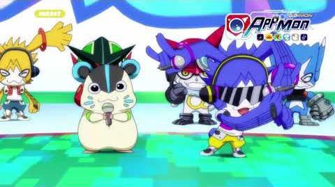 Digimon Appmon - 09 - Qui sera le numéro 1? Le tournoi des Appmons dans la cyber-arène PV