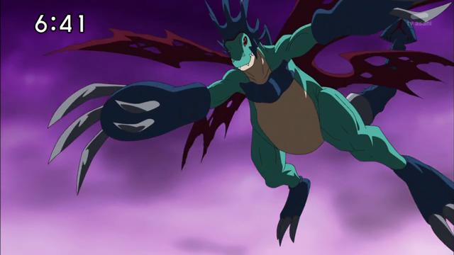 Dracomon + Cyberdramon