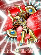 Metallifekuwagamon ex collectors card
