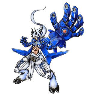 Aegiochusmon: Azul
