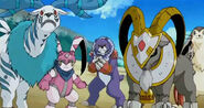 Revival Ancient Digimon Beasts