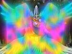 Holyangemon usando curación celestial