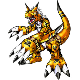 Growlmon (Yellow)