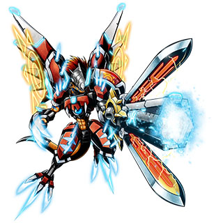 RizeGreymon X