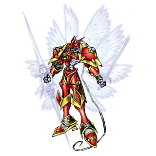 Gallantmon Crimson Mode Digimonwiki Fandom A holy knight digimon that acquired the title of a royal knights, the highest rank of network security. gallantmon crimson mode digimonwiki