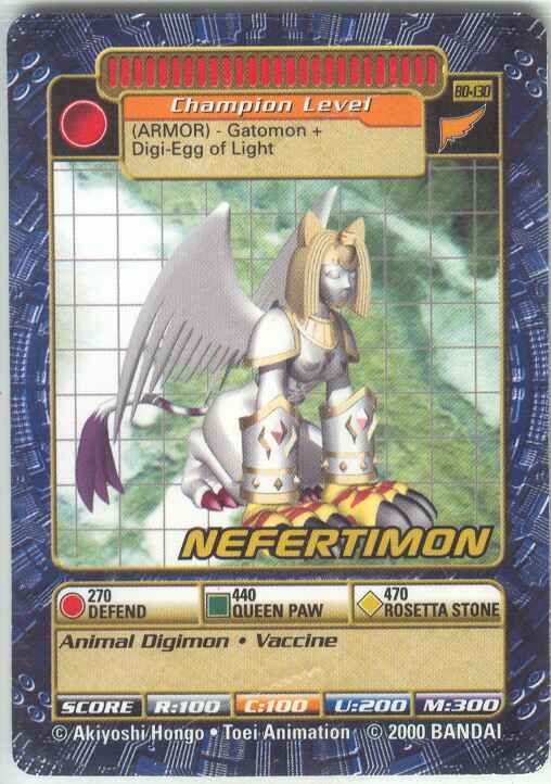 Nefertimon