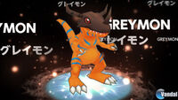 Adventure Story 3 Greymon Digivolution