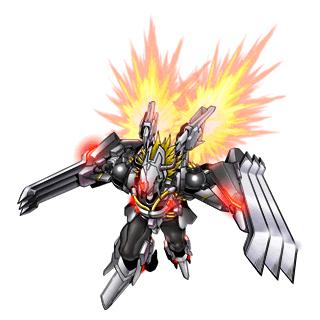 BlackWarGreymon X