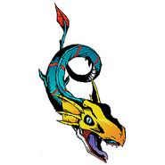 Seadramon (Digimon Reference Book)