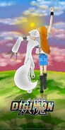 Digimon The legend of the biju- poster