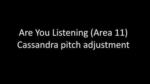 Are You Listening Cassandra Isolation