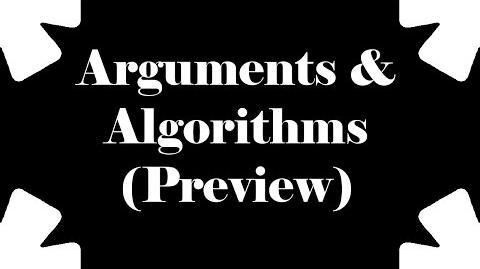 Sparkles* - Arguments & Algorithms (Preview)