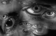 Fear of cancer eyes