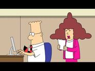 Dilbert on the computer
