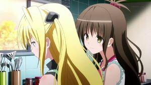 Mikan teach Yami cook