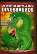 Abenteuer im Land der Dinosaurier (Brazilian DVD, Kids Play, Front)