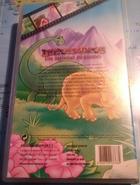 Abenteuer im Land der Dinosaurier (VHS, Portuguese, Back)
