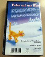 Peter und der Wolf (VHS, Junger Verlag, Back)