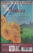 Wabuu (German VHS, Best Buy Video, Back)