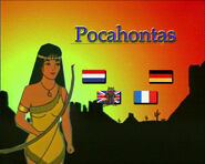 Pocahontas DVD Germany ArtMedia Menu