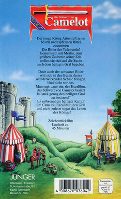 Das-Schwert-von-Camelot VHS-Germany Juenger Back.jpg