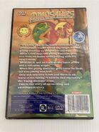 Back of dinosaurs dvd
