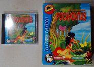 Pocahontas (Portuguese CD-ROM, Trisan Editores, Front)