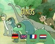 Dinosaurier DVD Germany Unknown Menu