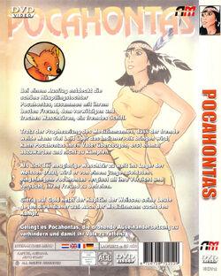 Pocahontas DVD Germany ArtMedia Back.jpg
