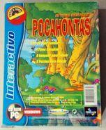 Pocahontas (Portuguese CD-ROM, Trisan Editores, Back)