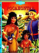 Pocahontas - DVD cover (Greek, Junior Home Video)