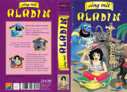 Sing-mit-Aladdin VHS Germany Juenger Cover