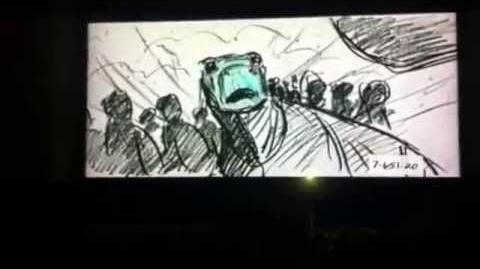 Aladar Meets The Herd (Story Sketch)