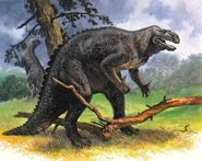 Iguanodon The Mysterious World of Dinosaurs