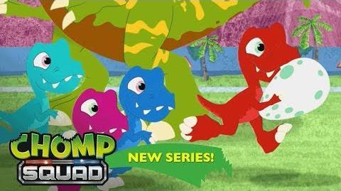 'Egg-cellent Adventure' 🥚 Episode 18 Chomp Squad A NEW Series!
