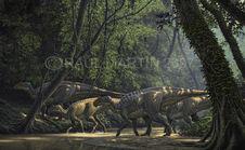 Kritosaurus forest