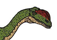 Dilophosaurus 747