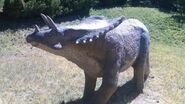 George s eccles dinosaur park chasmosaurus by dinolover09 dcoo445-fullview