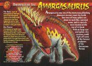 Amargasaurus front